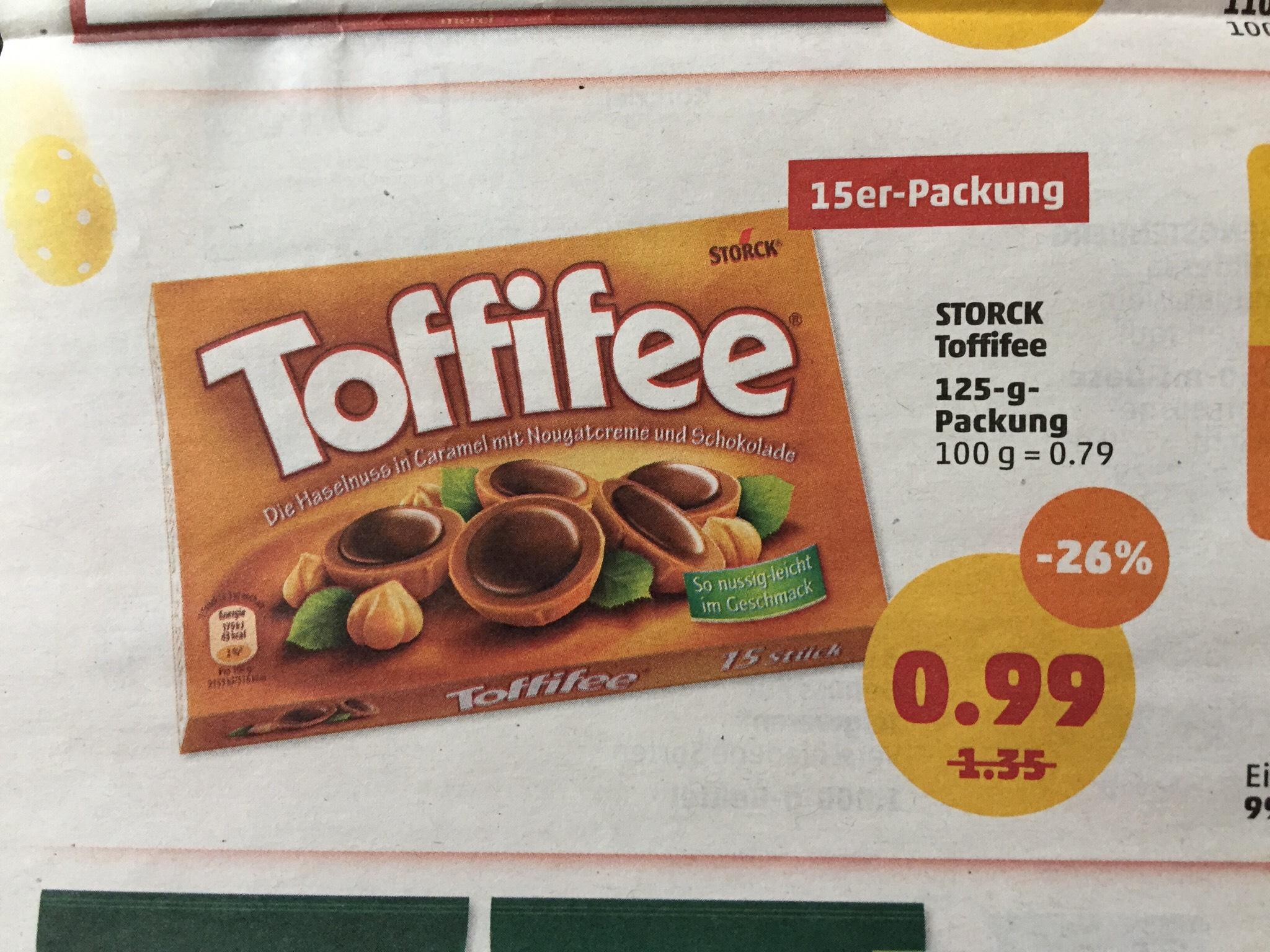 Storck Toffifee ab 26.03 bei Penny Markt  0,99€  125g