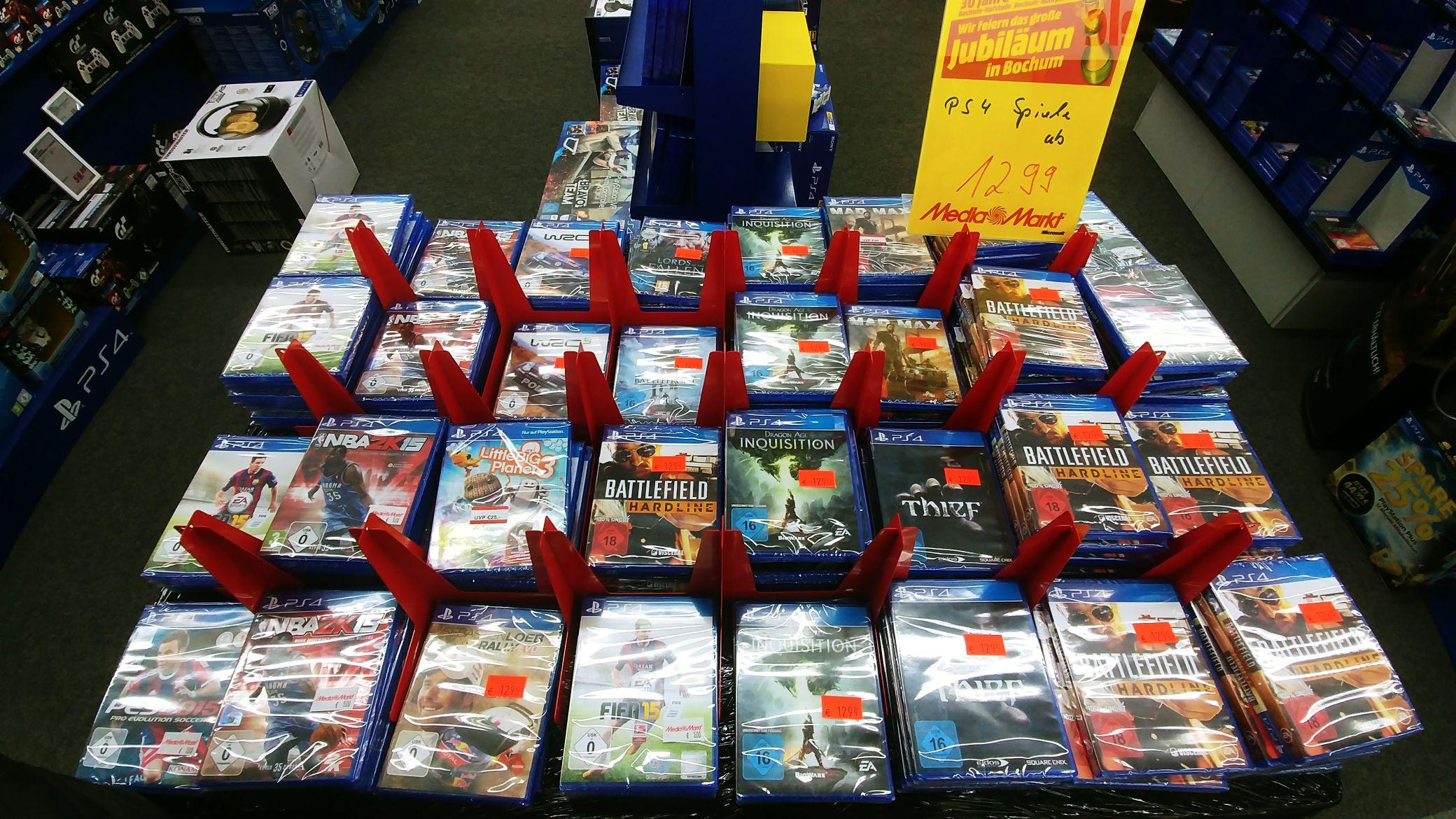 PS4 Spiele - MediaMarkt Bochum Ruhrpark (LOKAL Bochum)