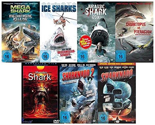 Monster Shark Box Edition (mit 10 Hai Film Klassiker) [8 DVDs] für 11,97€ [Amazon]