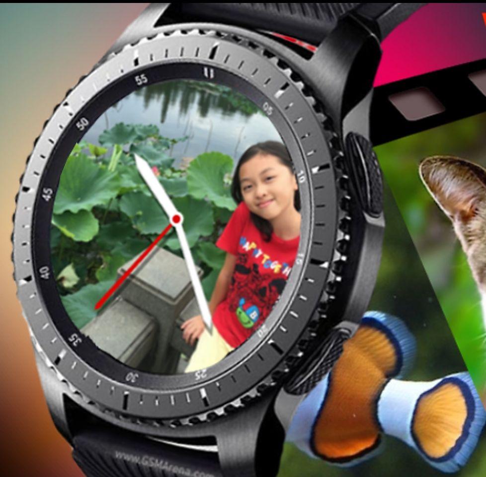 [Samsung Galaxy Apps] Gear S3 watch face Photo Watch Pro kostenlos statt 0,99 €, Update: weitere 7 Ziffernblätter kostenlos!