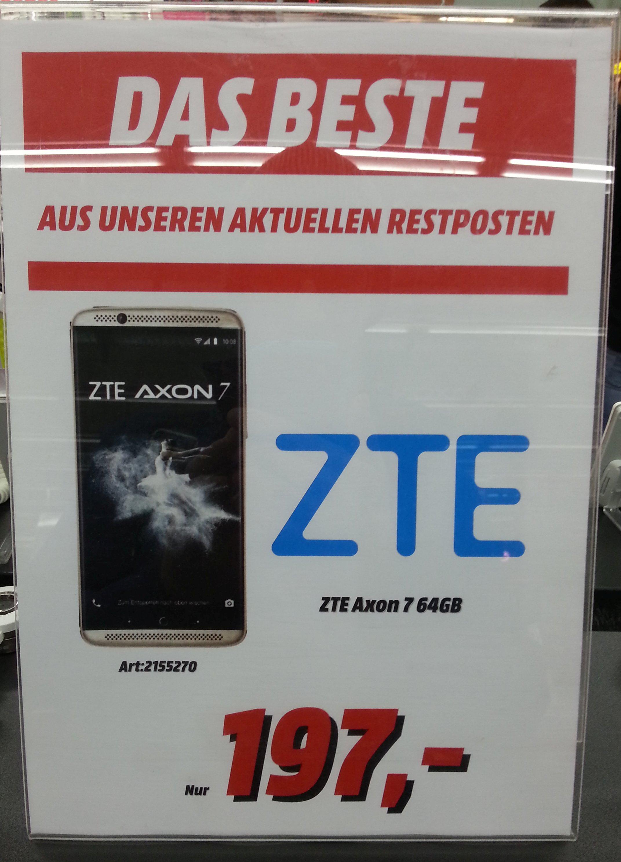 "ZTE Axon 7 Grau und Gold; 4GB RAM; 64GB ROM; 5,5"" Zoll QHD AMOLED; Snapdragon 820 [Lokal Düsseldorf Mediamarkt Bilker Arkaden]"