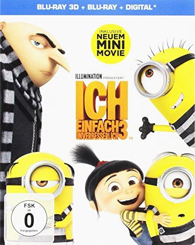Ich - Einfach unverbesserlich 3 3D (Special Edition) (3D Blu-ray + Blu-ray + UV Copy) für 14,97€ (Amazon Prime & Dodax)