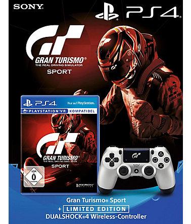 (PS4) Gran Turismo Sport + Dualshock Controller Gran Turismo Sport (schwab.de und otto.de erhältlich)