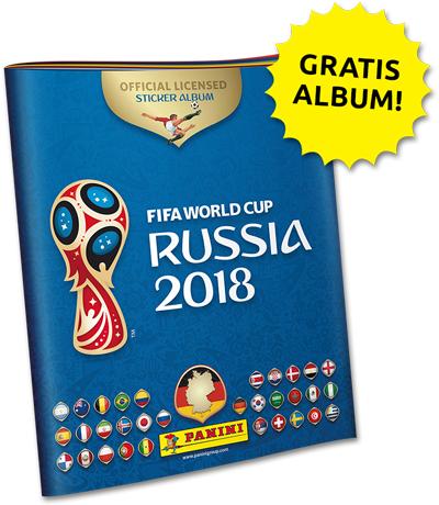 Panini Album Fifa World Cup Russia 2018