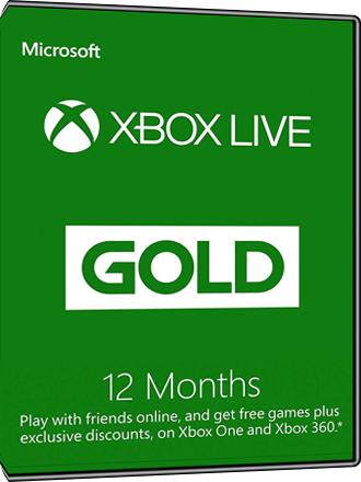 XBOX Live Gold 12 Monate bei MMOGA