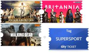 3 Monate Sky Ticket (Entertainment) + 1 Tag Live-Sport über PayPal *Update*