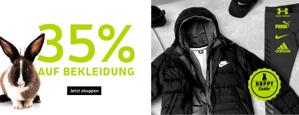 [MySportsWear] -35% Rabatt auf Bekleidung (Gestern waren es wohl nur Schuhe)