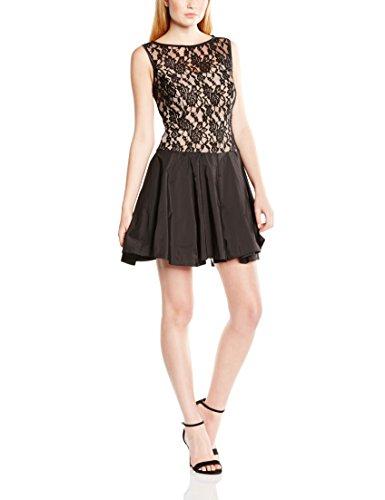( Amazon Prime ) Swing Damen Cocktailkleid mit floraler Spitze und Ballonrock Gr.40
