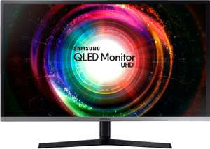 "Monitor 32"" Samsung U32H850 - 4K UHD VA, Quantum Dot, Freesync, Höhenverstellung, Pivot, 10bit, 125% sRGB (Amazon.it)"