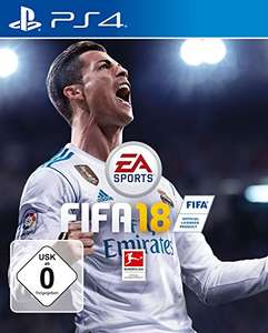 FIFA 18 für die PS4 bei Amazon (Disc-Version)