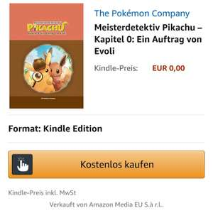 Meisterdetektiv Pikachu - Kapitel 0 - Gratis Ebook Amazon Kindle & Apple iBooks Store
