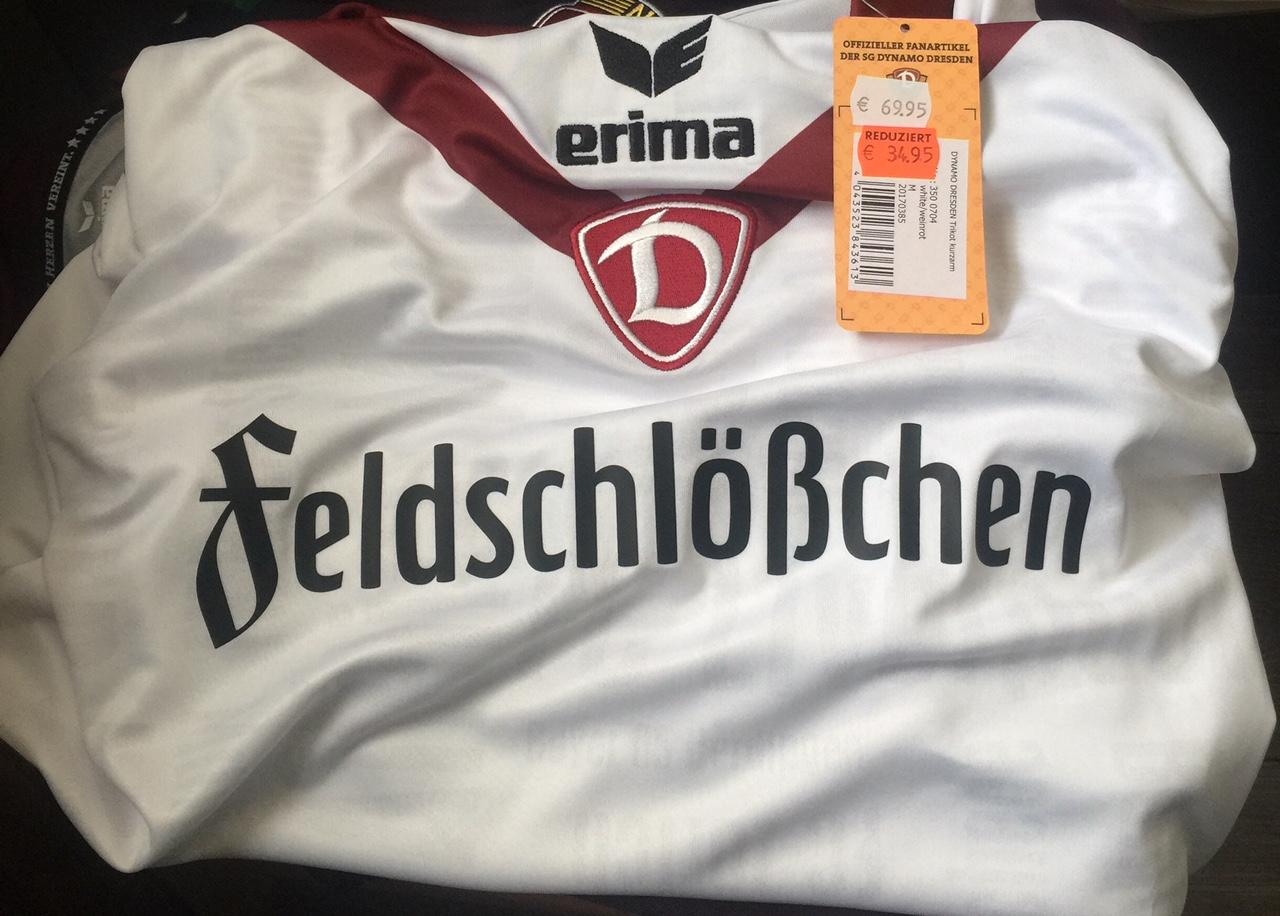 SG Dynamo Dresden Sondertrikot Europapokal Sport Scheck Dresden lokal
