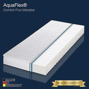 Aqua Flex Comfort Plus 7-Zonen Matratze Härte H3 90x200 incl. Versand