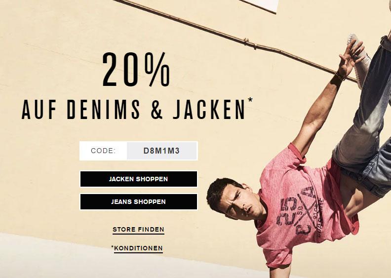 [s.Oliver] 20% Rabatt auf Denims und Jacken