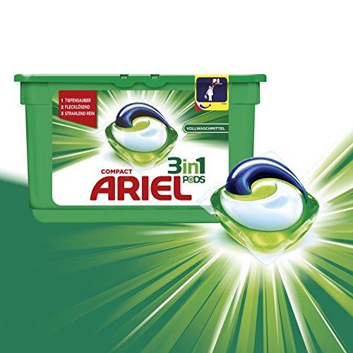 400x Ariel 3in1 Pods zu 16¢/Pod (Vollwaschmittel/Colorwaschmittel)
