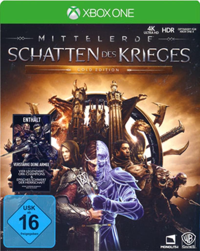 Mittelerde: Schatten des Krieges  Gold Edition (Xbox One) für 39,97€ (Amazon)