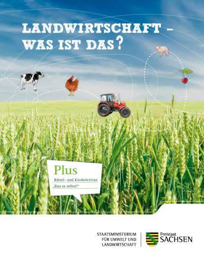 Landwirtschaft-Broschüre für Kinder  (Sachsen.de)