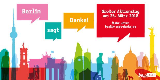 Berlin sagt Danke 25.03.2018 kostenlose Museen, Veranstaltungen, Führungen...