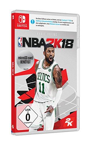 NBA 2K18 Switch für 26,99 Amazon Prime