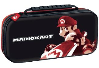 Deluxe Travel Case & Zubehör-Set: Mario Kart 8 & Schwarz (Nintendo Switch) für je 13,99€ (Saturn)