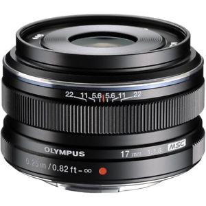 Olympus M.ZUIKO Digital 17mm f/1.8 Objektiv (Schwarz) - kleine Stückzahl!