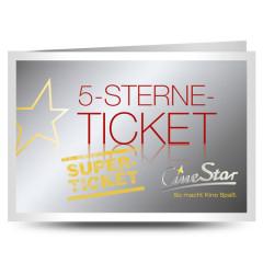 Cinestar Kassel: 5-Sterne-Superticket für 25,00 €