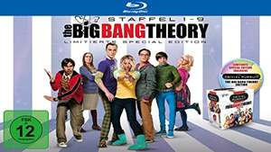 The Big Bang Theory - Die kompletten Staffeln 1-9 inkl. Trivial Pursuit Limited Edition (Blu-ray) für 89,97€ (Amazon)
