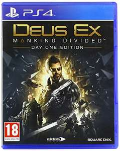 Deus Ex: Mankind Divided Day One Edition (PS4) für 7,69€ (Amazon)