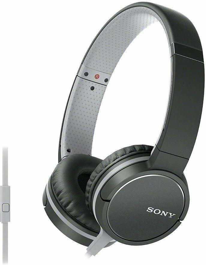 Sony MDR-ZX660AP Kopfhörer mit Headsetfunktion und In-Line-Remote schwarz (Amazon.co.uk)