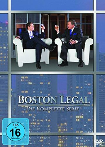 Boston Legal die komplette Serie (Amazon)