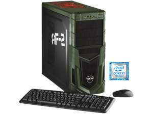 Hyrican Gaming-PC 5479 (i7-7700K, Geforce 1080, 16GB RAM, 250GB SSD + 1TB HDD, Win 10) für 1299€ [Mediamarkt]
