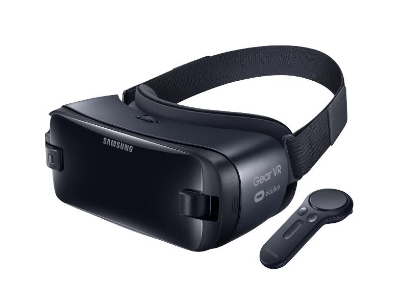 SAMSUNG Gear VR mit Controller (SM-R324) Virtual Reality Brille für 59€ VSK frei [Media Markt]