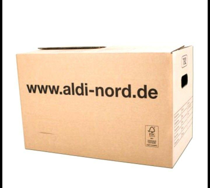 Nur noch 1€: Umzugskartons im Aldi in Coesfeld