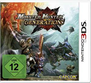 Monster Hunter: Generations (3DS) & Dragon Quest VII: Fragmente der Vergangenheit (3DS) für je 19€ versandkostenfrei (Saturn & Amazon)