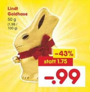 [Netto MD / Reebate] Lindt Goldhase 50g gratis