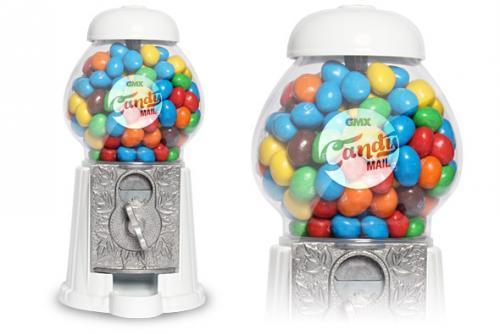 Wieder da: GMX Süßigkeiten-Spender inkl. M&M Beutel (170 Gramm) Kostenlos