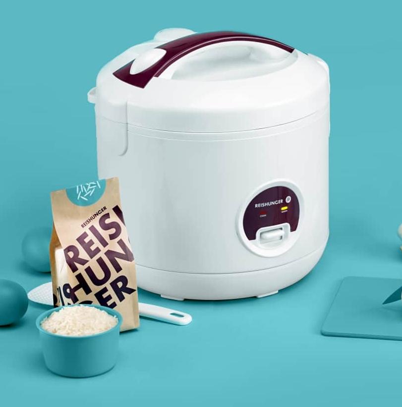 Reishunger Reiskocher + 200g Überraschungsreis