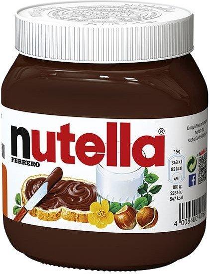 450g Nutella mit 100% Cashback bei Reebate (eventuell nur Neukunden)