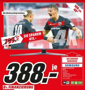[Lokal Berlin] *Demo* UHD 4K SMART TV LED Samsung UE40MU6449U