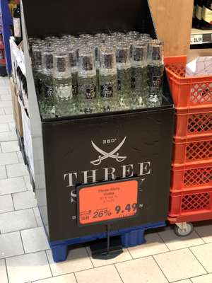 Kaufland Lichterfelde - Three Sixty Vodka