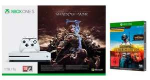 Xbox One S 1TB + Shadow of War + PUBG für 204€ oder Xbox One S 500GB + Forza Horizon 3 / Shadow of War für 177€ [Otto Bestandskunden]