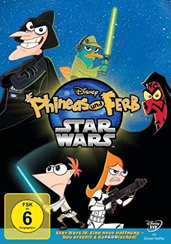 Phineas und Ferb - Star Wars (DVD) für 5,43€ (Dodax)