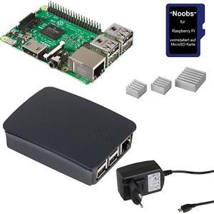 Raspberry Pi 3 Official Desktop Starter Kit (Raspberry Pi, Gehäuse, Netzteil, Kühlkörper, microSD-Karte) für 44,90€ mit 15€ ebay Plus Gutschein [alternate@eBay Plus]
