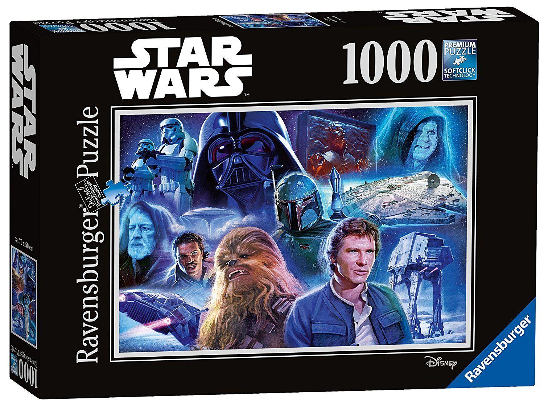 Star Wars Collection 1+ 2 Puzzle mit 1000 Teile für je 5,94€ inkl.Versand [Amazon Prime]