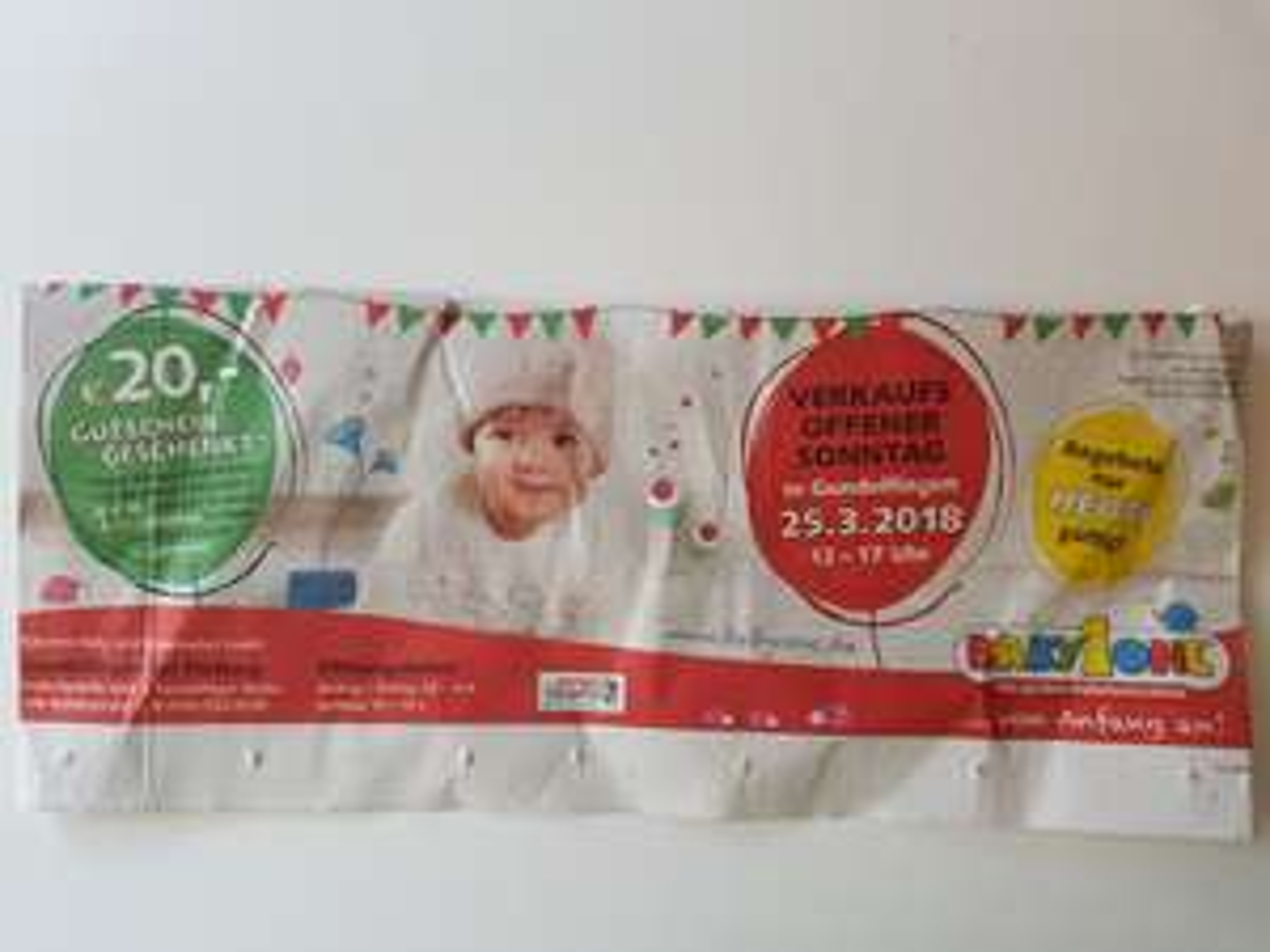 [BabyOne Gundelfingen] Ab 50€ Einkaufswert 20€ Gutschein geschenkt
