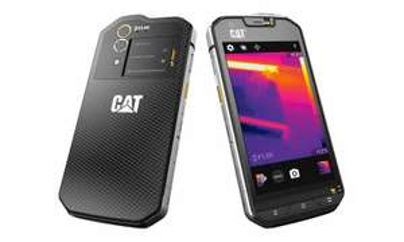 CAT S60 Outdoor Smartphone (11,9 cm (4,7 Zoll), Wärmebildkamera, Dual-SIM, 13Megapixel,32GB Speicher, 3GB RAM, Android Marshmallow) schwarz