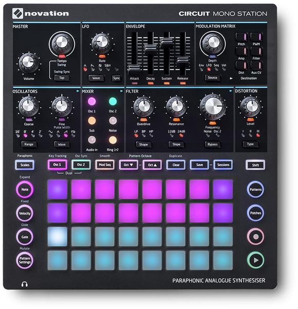Novation - Circuit Mono Station - Paraphonic Analogue Synthesizer