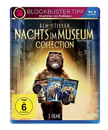 Nachts im Museum 1-3 Collection (Blu-ray) für 7,64€ (Amazon Prime & Bücher.de)