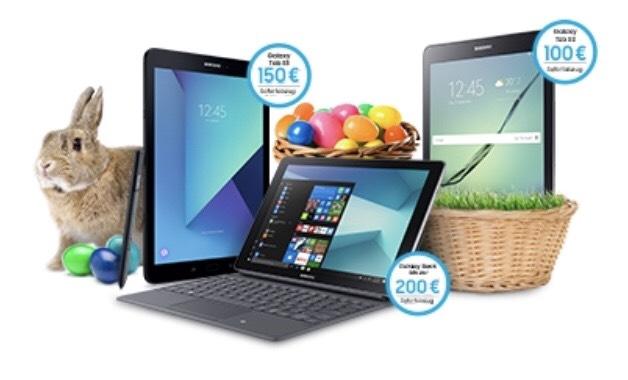 Samsung Tablet Oster Wochen