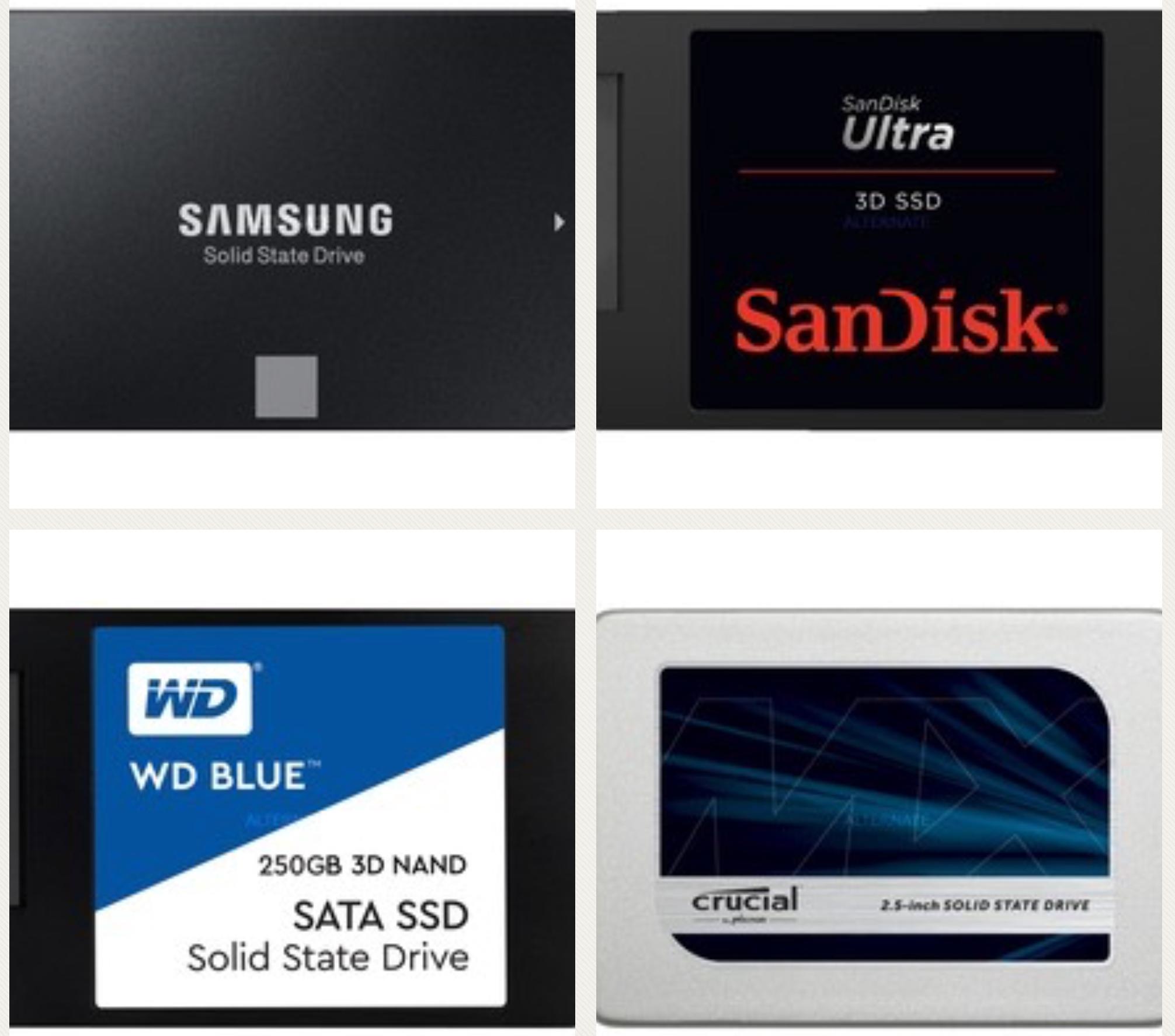 [Alternate] SSDs z.B. Samsung 860 EVO 250GB o. Crucial MX300 275 GB o. SanDisk Ultra 3D 250 GB für je 60,89€ mit Paydirekt Gutschein